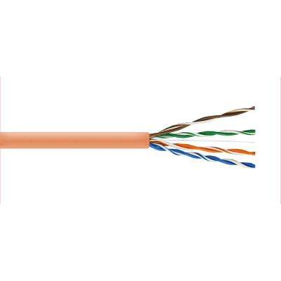 Cat5E 100 ft. Tan 24-4 Indoor/Outdoor Twisted Pair Cable