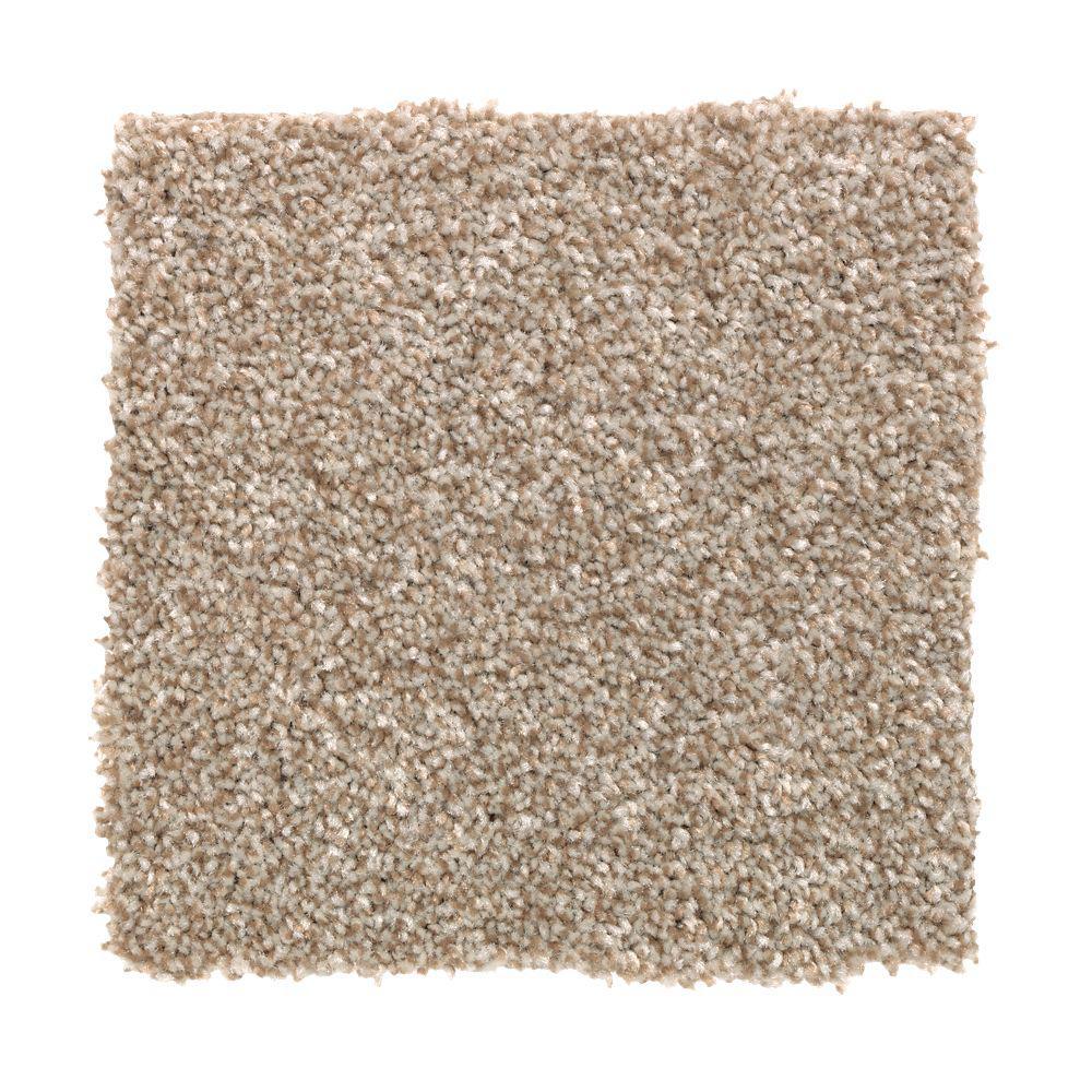 Carpet Sample - Superiority II - Color Oak Flats Texture 8 in. x 8 in.