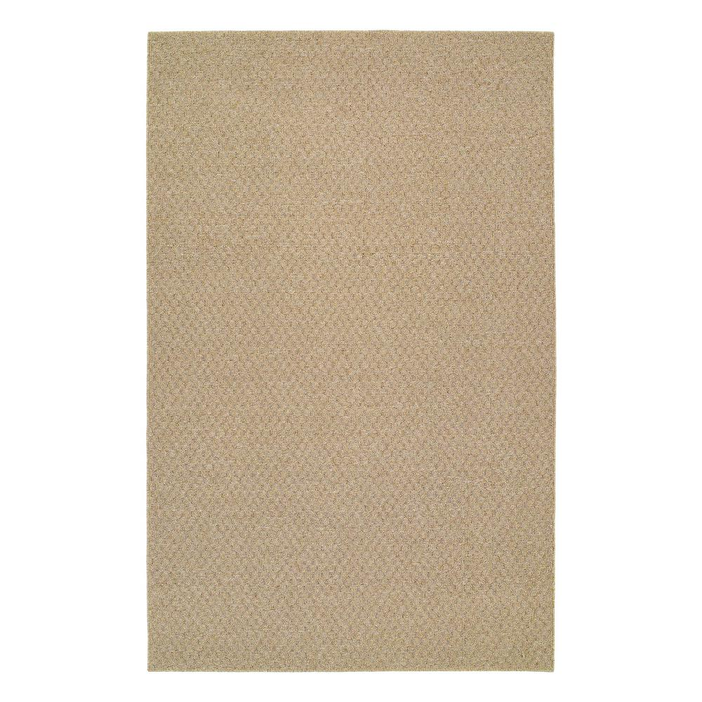 Garland Rug Town Square Tan 8 Ft X 10 Ft Solid Polypropylene Area Rug Ts000n09612001 The Home Depot