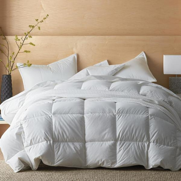 The Company Store LaCrosse LoftAIRE Extra-Warmth White King Comforter C3J7-K-WHITE