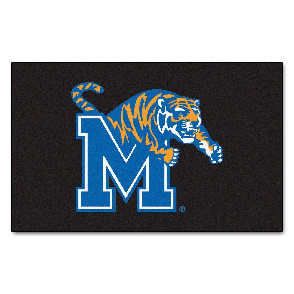 FANMATS University of Memphis 60 in. x 96 in. Ulti-Mat-1448 - The Home Depot