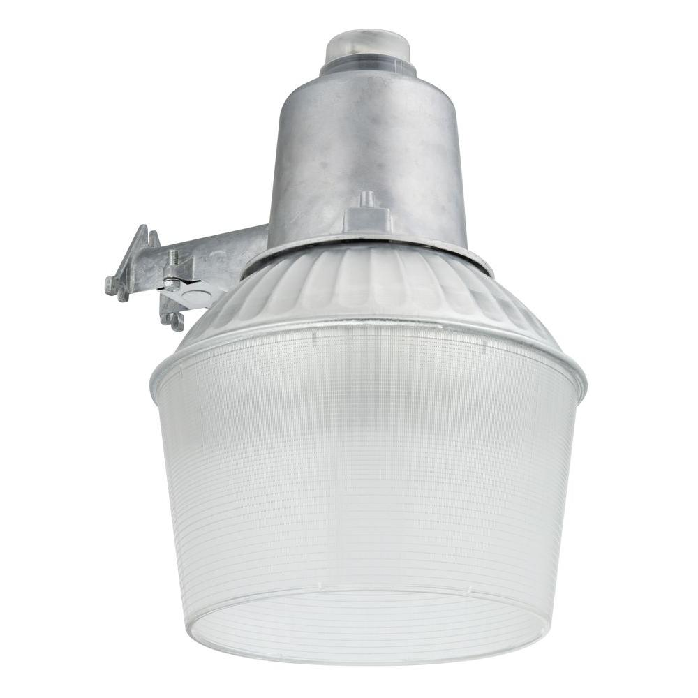 Lithonia lighting 150 watt 1 light gray outdoor area light with dusk lithonia lighting 150 watt 1 light gray outdoor area light with dusk to dawn aloadofball Image collections