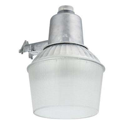 150-Watt 1-Light Gray Outdoor Area Light with Dusk To Dawn Photocell