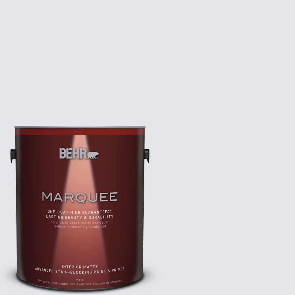 1 gal. #MQ3-31 Dutch White Matte One-Coat Hide Interior Paint and