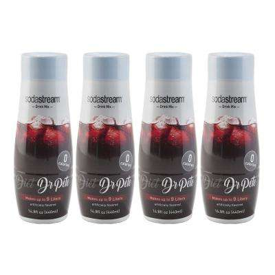 440 ml Fountain Style Sparkling Diet Dr. Pete Drink Mix (Case of 4)
