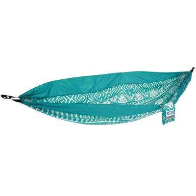 Blue Tribal Travel Hammock (2-Piece)