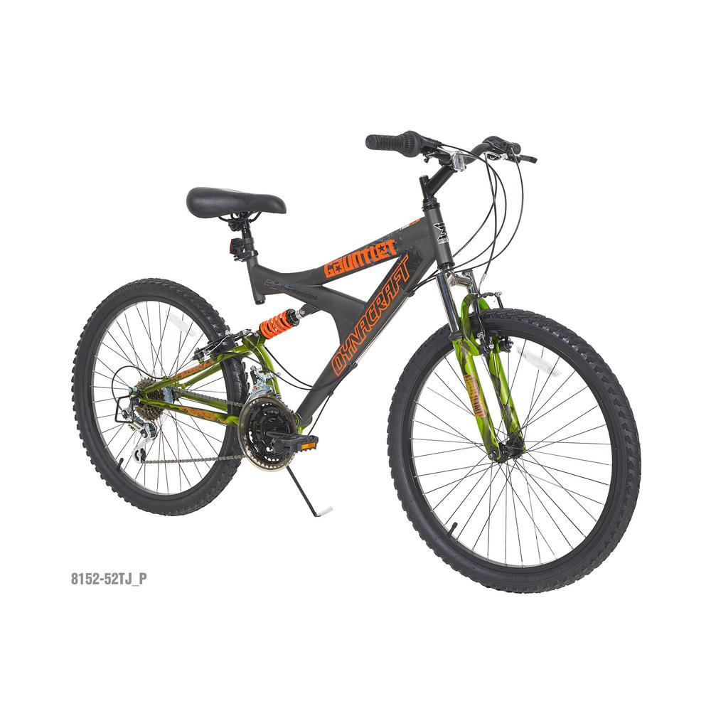 24 in. Guantlet Boys Bike with Dual Suspension