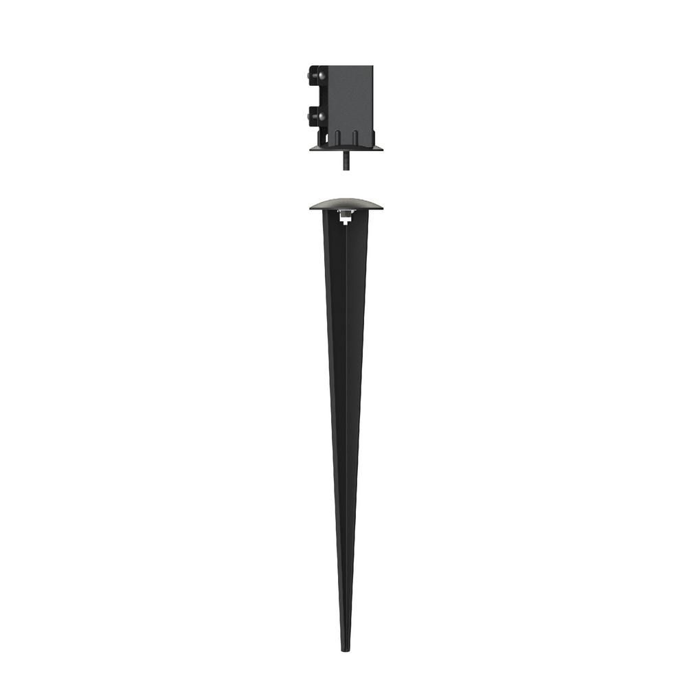Peak Products 4 in  x 4 in Adjustable Ground Spike
