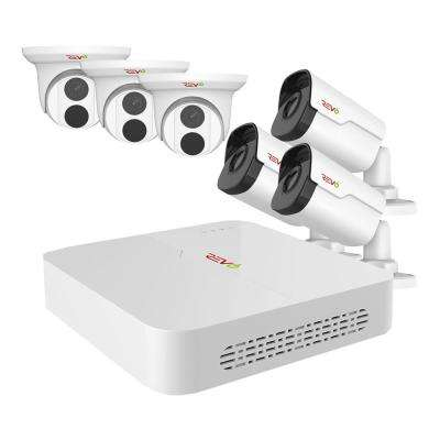 Ultra HD Audio Capable 8-Channel 5MP 2TB NVR Surveillance System with 6 Indoor/Outdoor Cameras