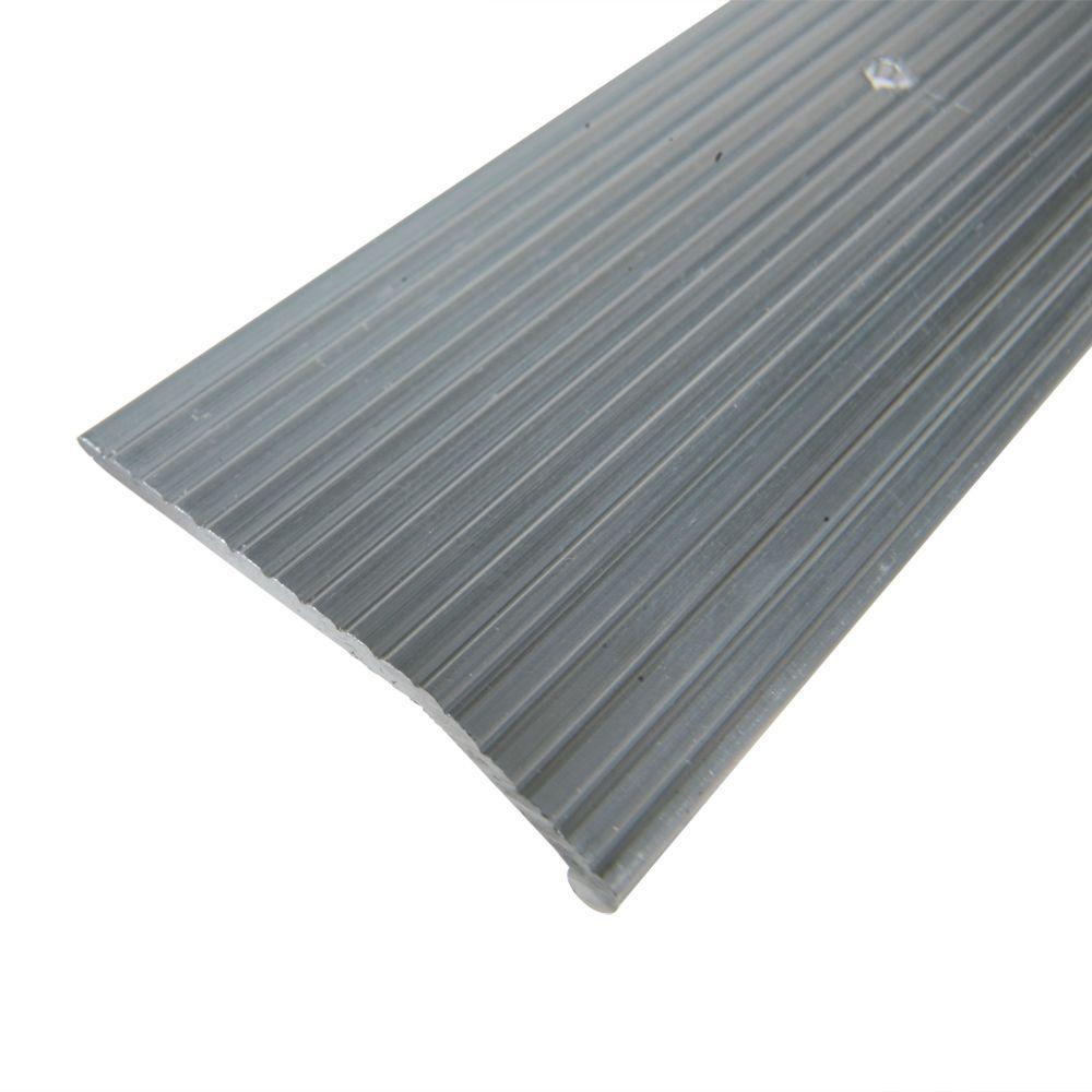 TrafficMASTER Satin Nickel 1-3/8 in. x 144 in. Carpet Trim