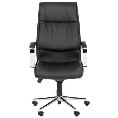 Fernando Black PU Leather Office Chair