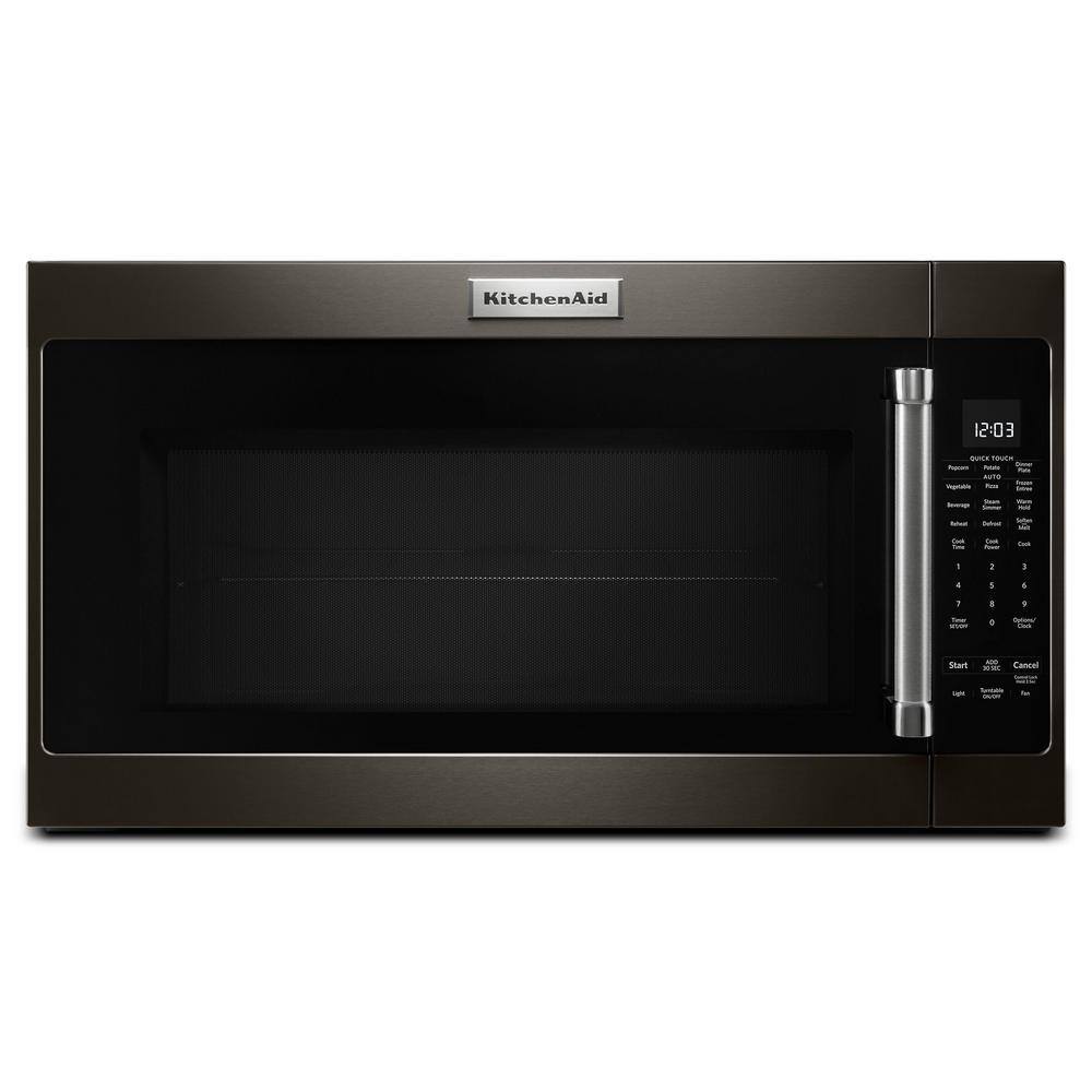 30 in. 2.0 cu. ft. Over the Range Microwave in Black