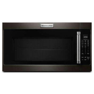 30 in. 2.0 cu. ft. Over the Range Microwave in Black Stainless with Sensor Cooking