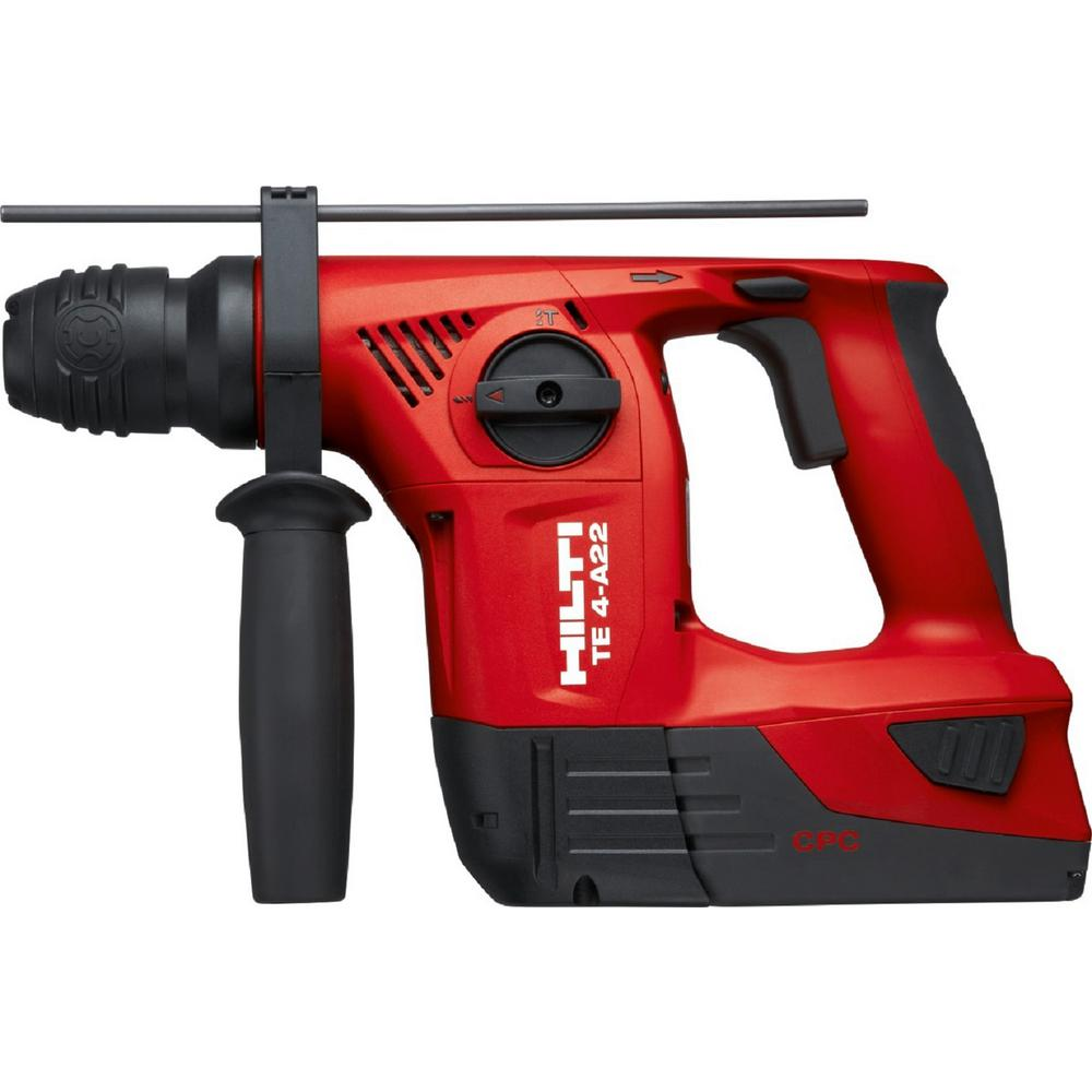 22-Volt Lithium-Ion Cordless SDS Chuck Hammer Drill/Reciprocating Saw/Impact