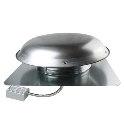 1200 CFM Mill Aluminum Electric Powered Attic Fan with Adjustable Thermostat