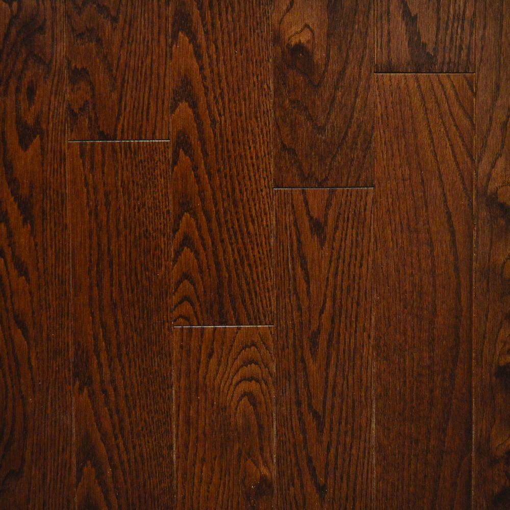 Quickstyle walnut red oak canadian 3 4 in thick x 3 1 4 for Unfinished hardwood floors