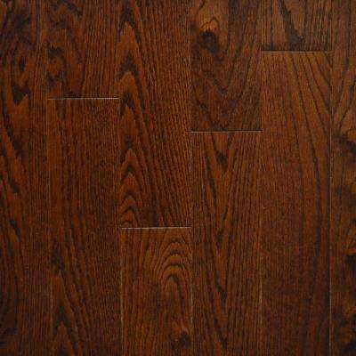 Walnut Red Oak Canadian 3/4 in. Thick x 3-1/4 in. Wide x Random Length Solid Hardwood Flooring (20 sq. ft. / case)