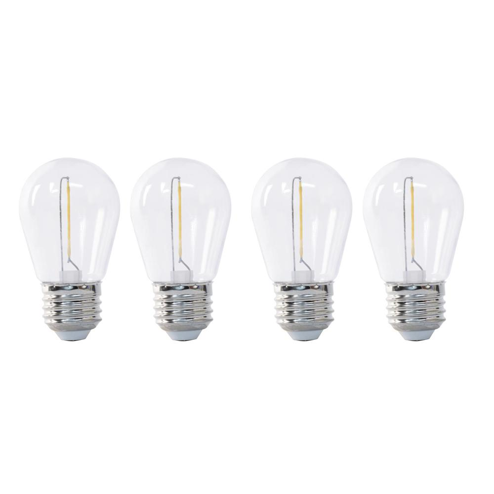 11W Equivalent Soft White (2200K) S14 String Light LED Light Bulb