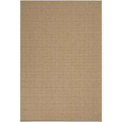 Dom Beige 4 ft. x 6 ft. Indoor/Outdoor Area Rug