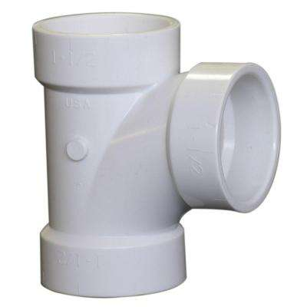 6 in. PVC DWV All-Hub Sanitary Tee