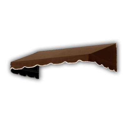 14 ft. San Francisco Window/Entry Awning (24 in. H x 36 in. D) in Brown