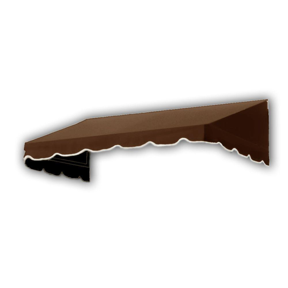 AWNTECH 50 ft. San Francisco Window/Entry Awning (24 in. H x 42 in. D) in Brown