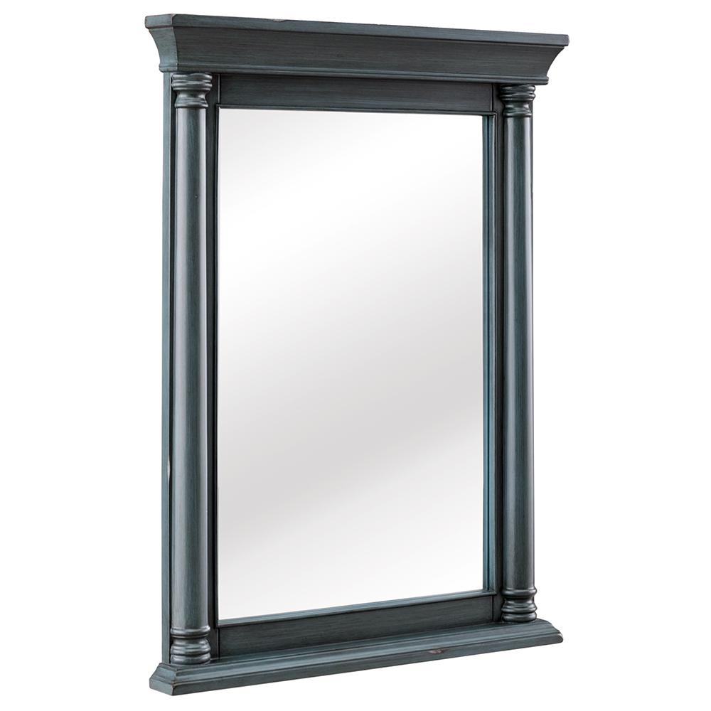 Strousse 24 in. W x 32 in. H Framed Wall Mirror