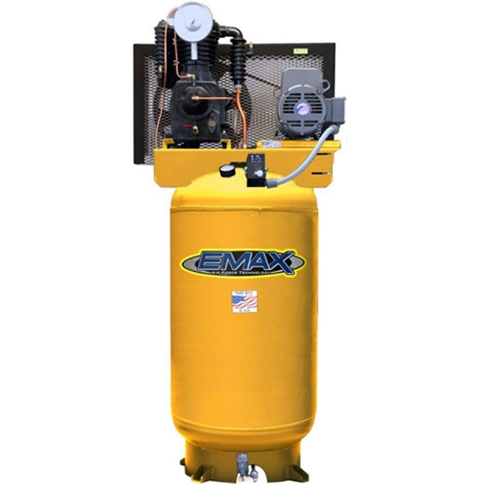 EMAX 80 Gal. 5 HP 2-Stage Vertical Stationary Electric Air Compressor