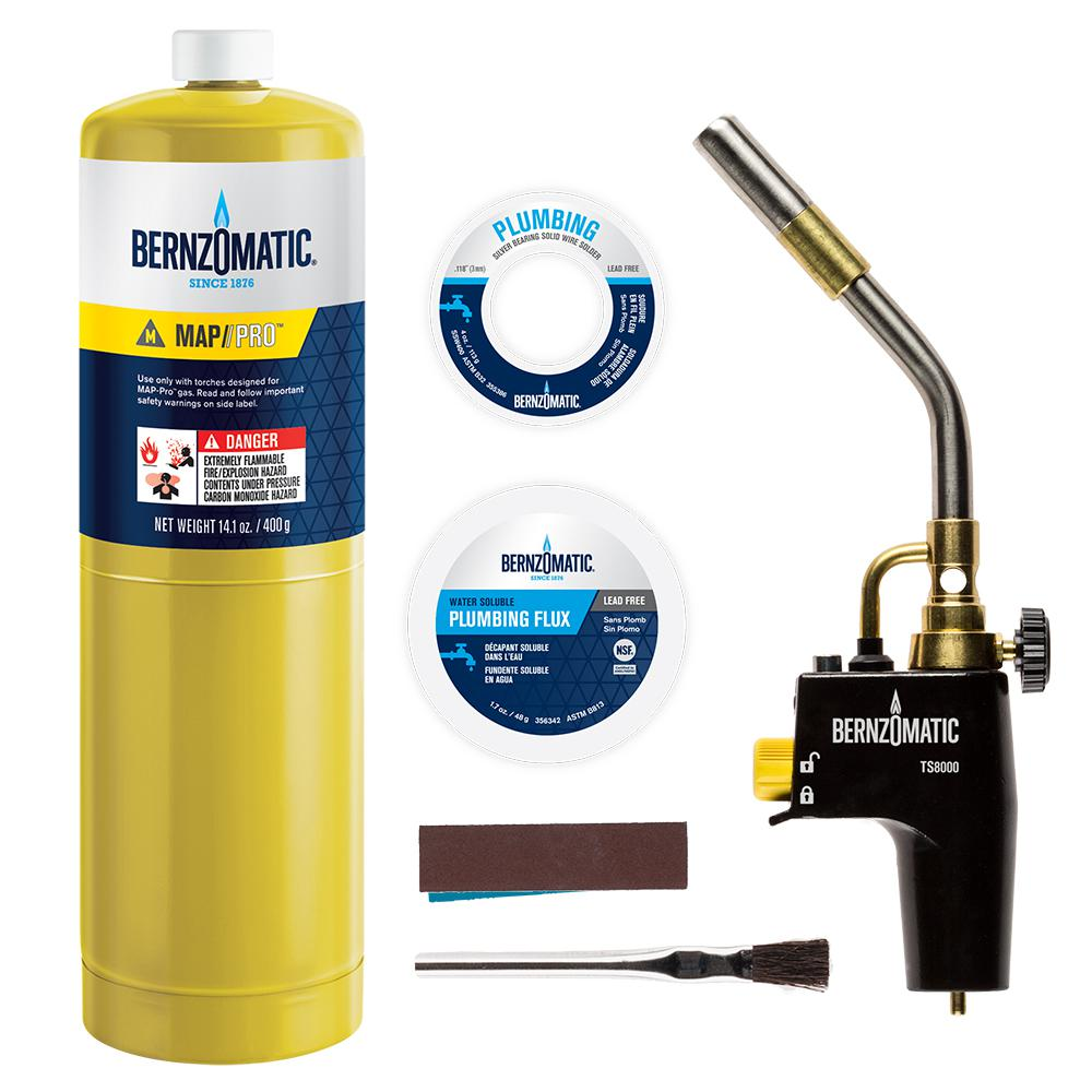 PK8000KC Premium Plumber's Torch Kit