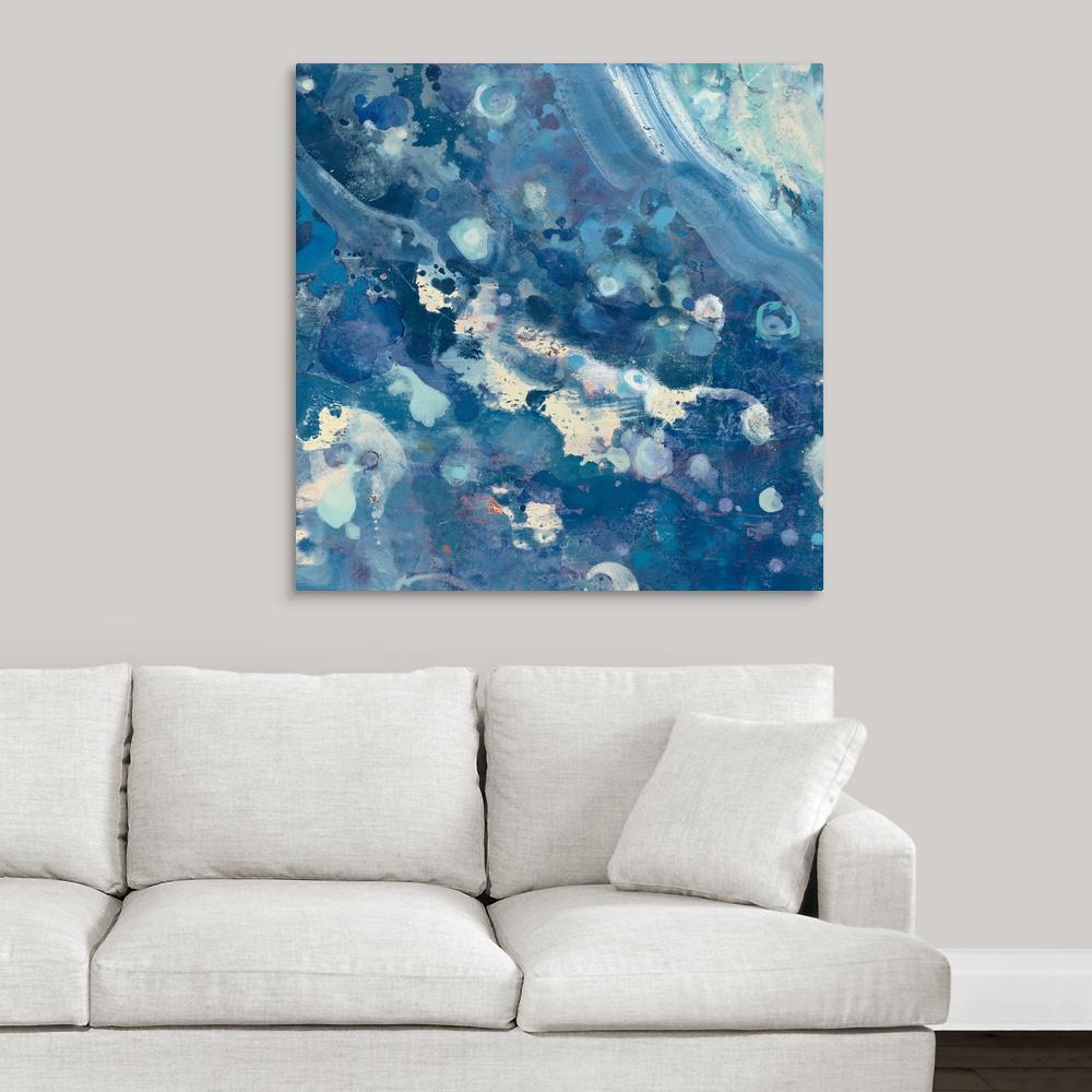 Greatbigcanvas Water Iii By Albena Hristova Canvas Wall Art 2389228 24 36x36 The Home Depot
