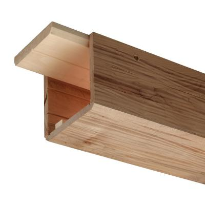 Rustic Ambrosia Maple 5 in. x 5 in. x 96 in. Wood Faux Beam