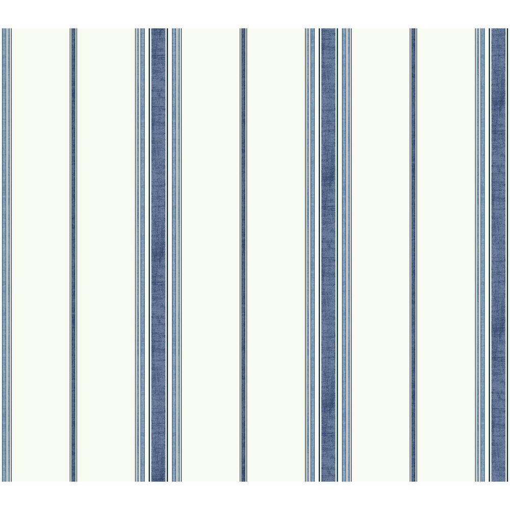 York Wallcoverings Waverly Kids Incense Stripe Wallpaper