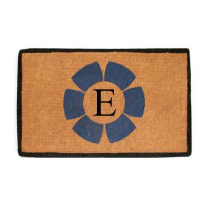 Click here to buy  A1HC First Impression Handwoven Floella 24 inch x 39 inch Coir Monogrammed E Door Mat.
