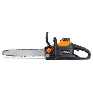 Wen 40-Volt Max Lithium Ion 16 inch Brushless Chainsaw with 4Ah Battery and Charger by WEN