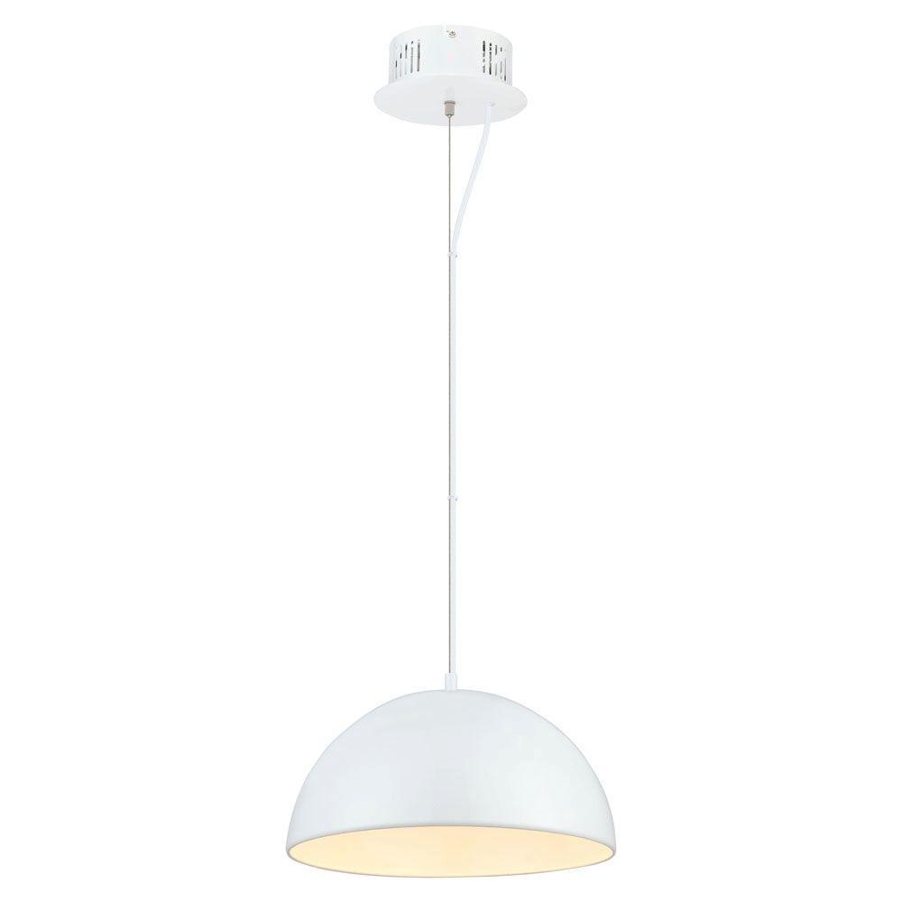 Eglo Gaetano 1 Light White Large Pendant