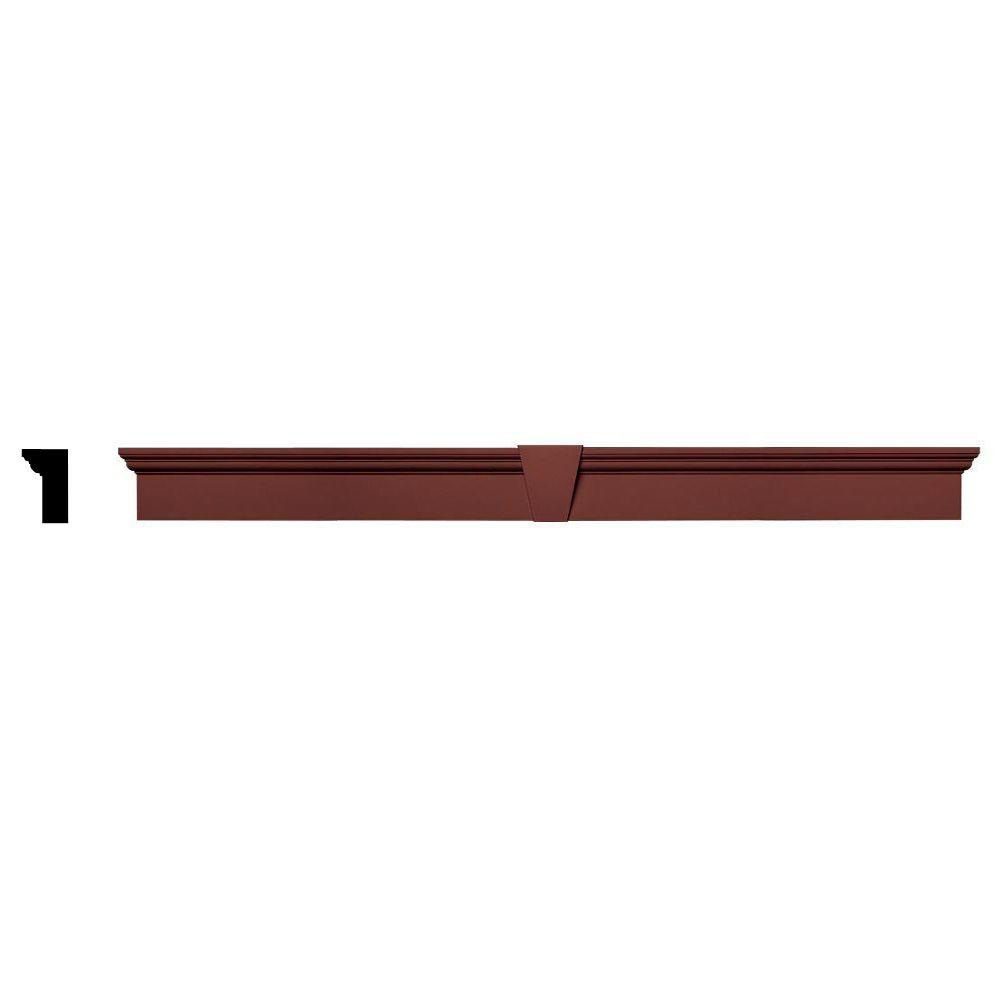 Builders edge 2 5 8 in x 6 in x 73 5 8 in composite for Exterior keystone molding