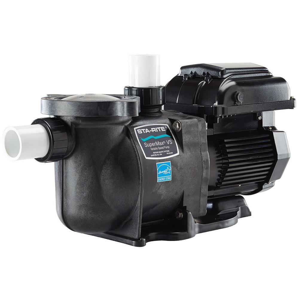 SuperMax VS 1 HP Variable Speed Pool Pump