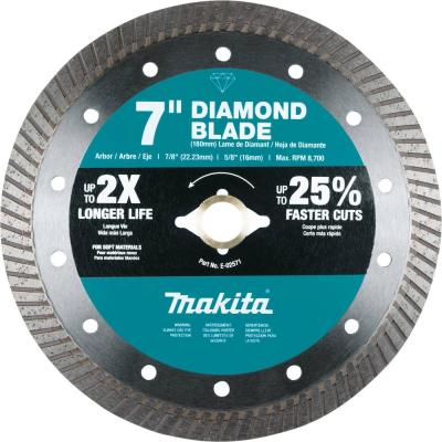 7 in. Diamond Blade, Turbo, Soft Material