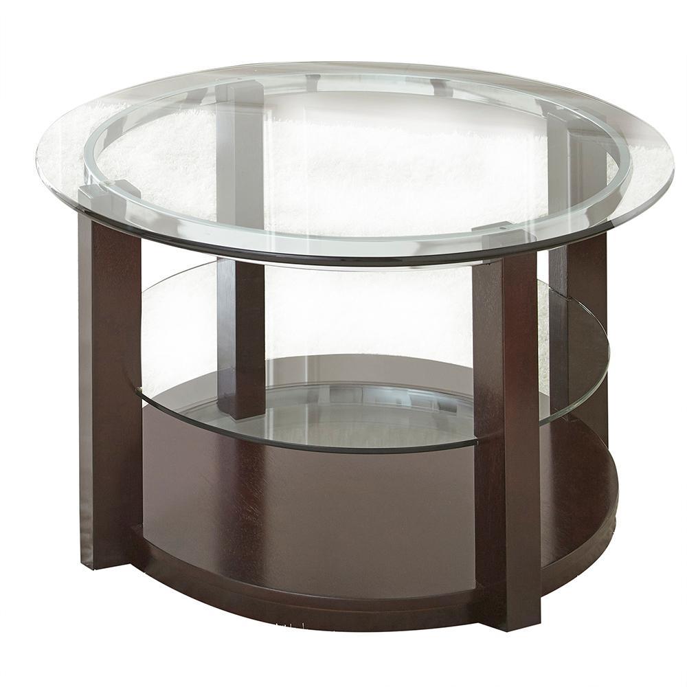 Steve Silver Company Cerchio Round Cocktail Table