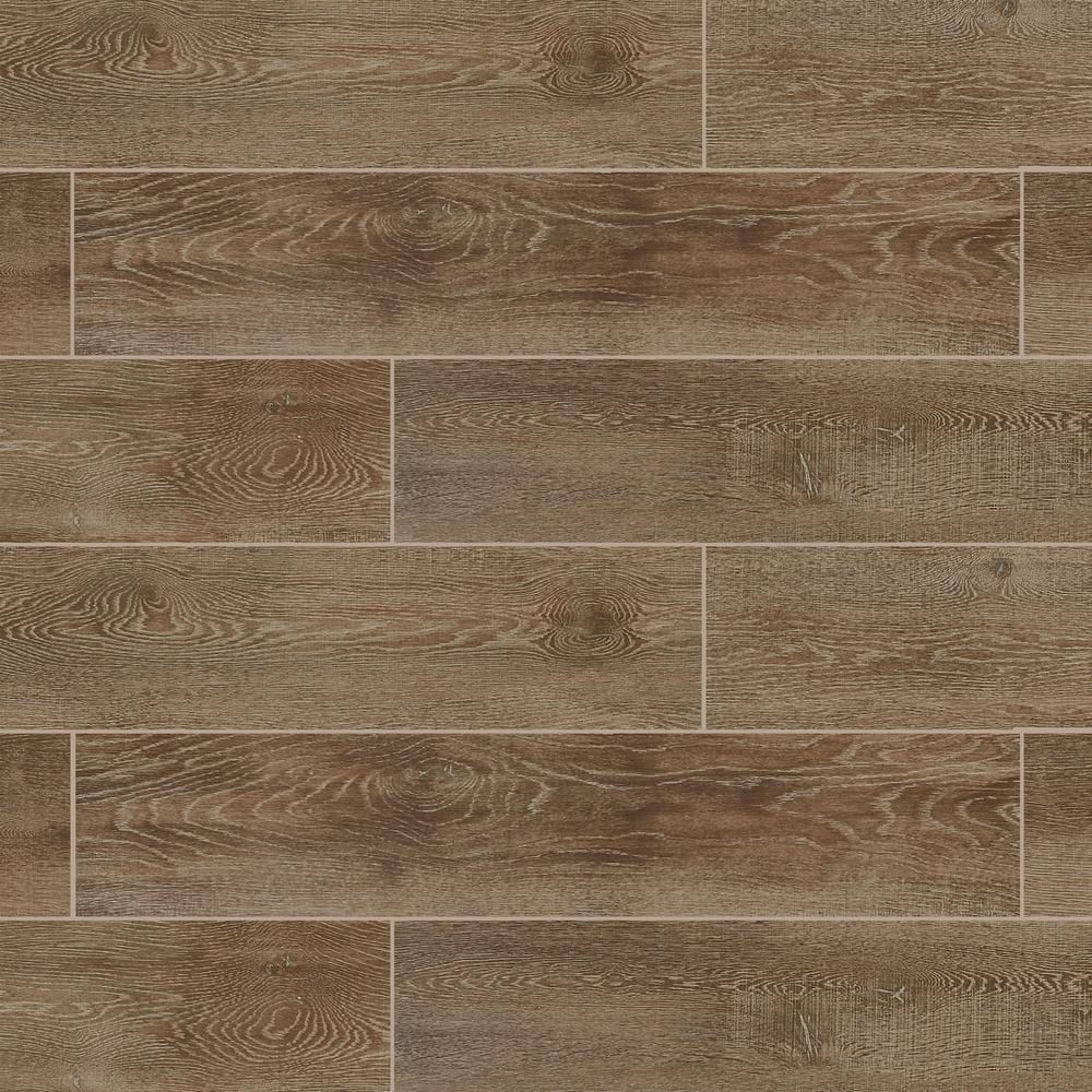 Marazzi Sequoia Forest Golden Ash 8 In X 40 Porcelain Floor And Wall Tile 10 75 Sq Ft Case