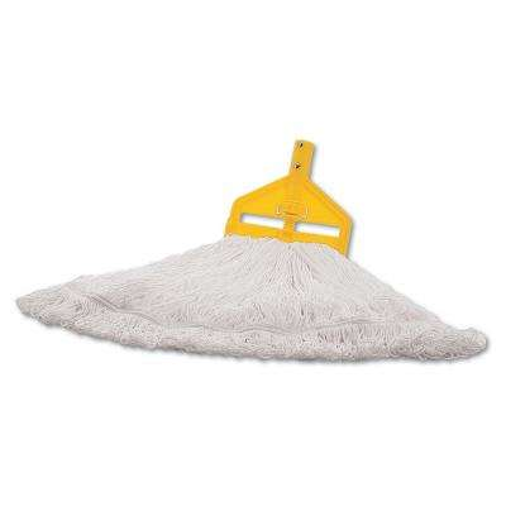 Large Cut End White Nylon Finish Mop (6-Case)