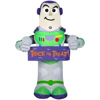 3.5 ft. Inflatable Stylized Buzz with Banner
