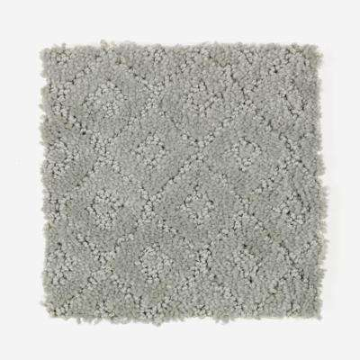 Carpet Sample - Sawyer - Color Meandering Pattern 8 in. x 8 in.