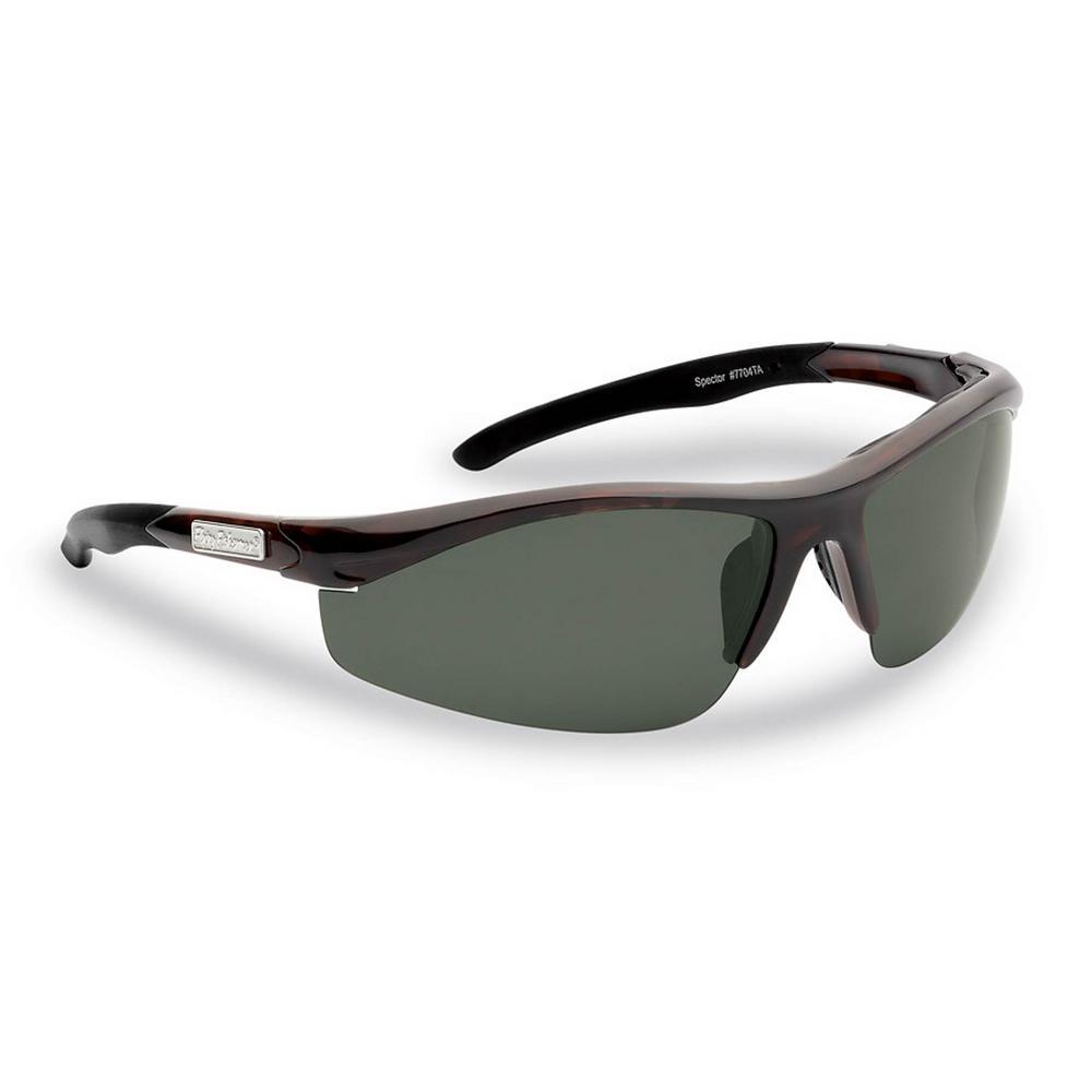 866d0e7d746 Flying Fisherman Spector Polarized Sunglasses Tortoise Frame with Smoke Lens