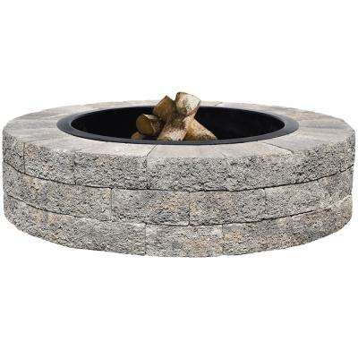 Countryside 48 in. Gray Fire Pit Kit