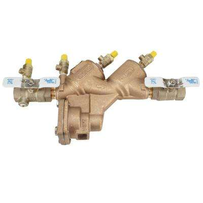 3/4 in. Lead Free Bronze FIP Reduced Pressure Backflow Preventer