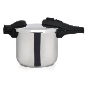 BergHOFF CooknCo 6 Qt. Stainless Steel Stovetop Pressure Cookers by BergHOFF