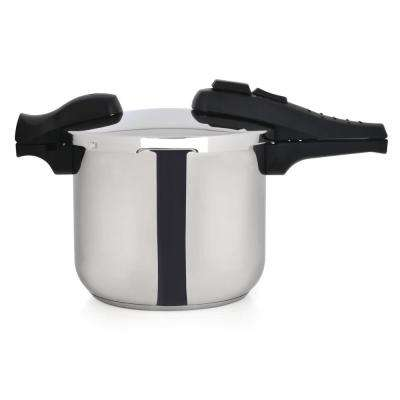 CooknCo 6 Qt. Stainless Steel Stovetop Pressure Cookers