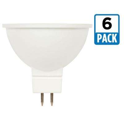 35W Equivalent Bright White MR16 Dimmable LED Light Bulb (6-Pack)