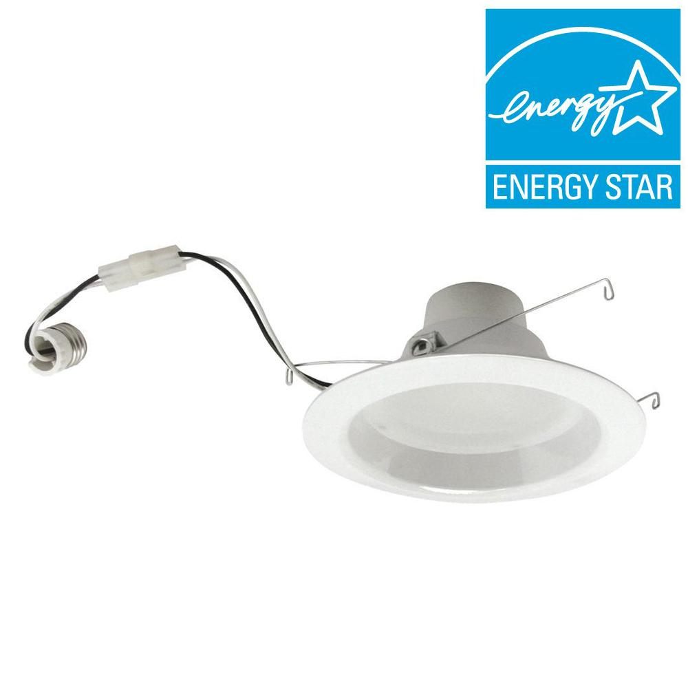 TCP 65W Equivalent Soft White (2700K) 6 in. Dimmable LED Retrofit Downlight